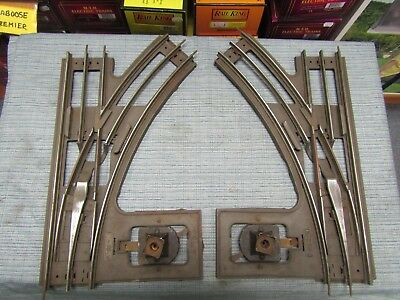 Lionel 220 Standard Gauge Switches , Pair , Vintage 1926