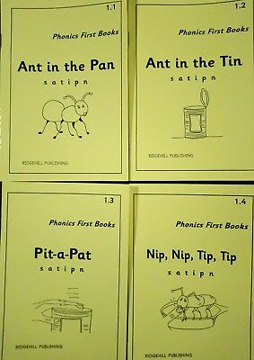 First Phonics Letters and sounds set of books