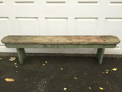 Old Rustic Vintage Wooden Garden Bench      Pickup Only