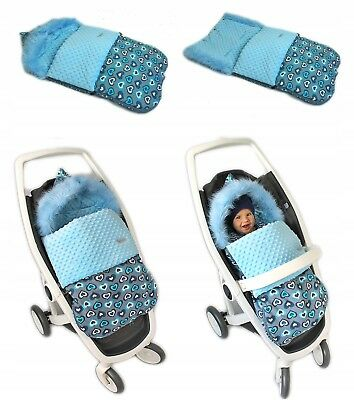 Universal Waterproof Footmuff  CosyToes Buggy Pushchair / Stroller /Pram Baby To