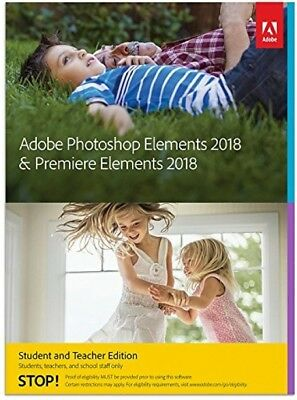 Adobe Photoshop Elements 2018 & Premiere Elements 2018 STE PC/Mac EN