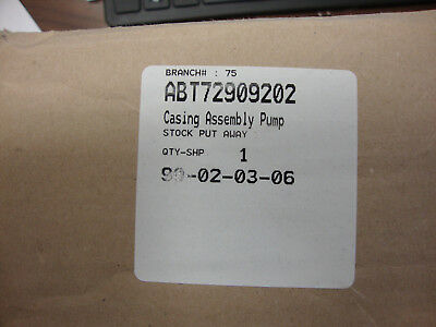 Brand New - Abt72909202 Pump Assembly - Free Shipping $ 84.95