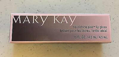 Mary Kay Nourishine Plus Lip Gloss *New in Box *You Pick