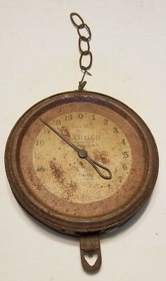 Antique Chatillon 20Lb 40Lb Capacity Scale Ny City Type 33 Approved Serial H