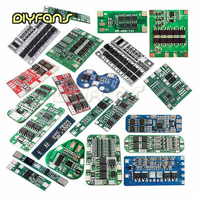 2/3/4/6S Packs BMS PCB Schutz Board For Li-ion Lithium Battery 18650 Charger