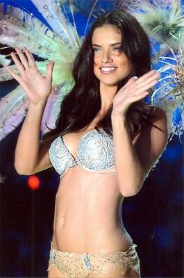Adrianna Lima - On The Runway, Lets Clap Our Hands !!!!!  In Panty And Bra !!