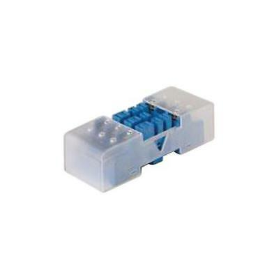1 x Finder 92.43.1 Relay Socket, Screw, 16A, 250V, DIN Rail