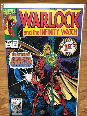 Warlock and the Infinity Watch #1 9.8 NM White Pages Marvel Comics 1992