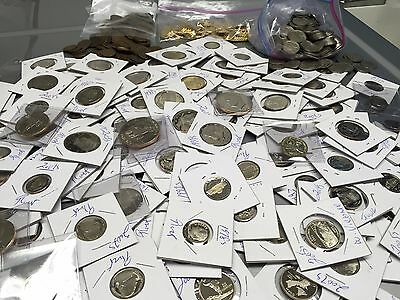 ESTATE LOT 200 GEM PROOF US  COINS $50 FACE+DCAM+STATE+SILVER+1950s+NO CENTS