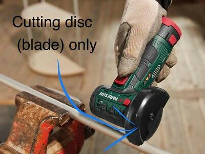 1x Replacement Disc Blade for Lidl Parkside 12v Cordless Battery Grinder