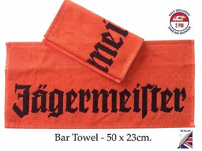 Jagermeister / Jägermeister, Bar Towel, 100%Cotton, 50 x 23cm., STOCK SALE !!!