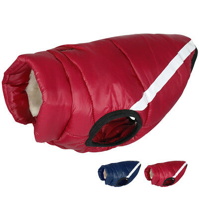 Super Thick Fleece Inner Padded Dog Winter Coat Windproof Dog Jacket Clothes