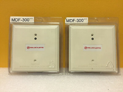 Honeywell / Fire-Lite MDF-300 (Lot of 2) 15 to 32 VDC, Monitor Modules. New!