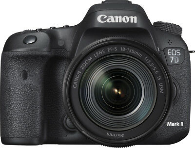 Canon - EOS 7D Mark II DSLR Camera with EF-S 18-135mm IS USM Lens Wi-Fi Adapt...