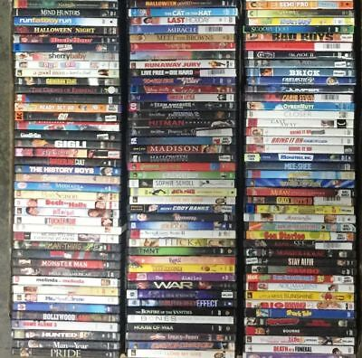 Wholesale Lot of 30 Used DVD Mostly Rental Assorted No Duplicate Bulk Free S&H