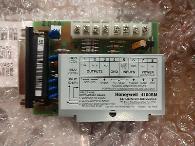 Honeywell 4100SM Serial Interface Module