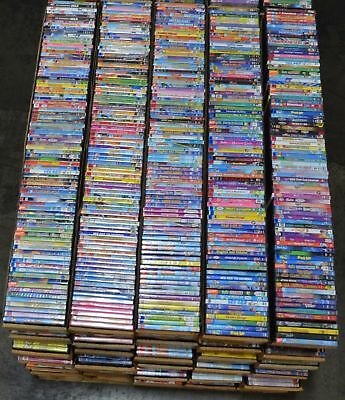 Wholesale Lot of 30 Used Assorted Bulk DVD Mostly Kid Family Children No Dups