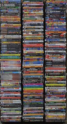 Wholesale Lot of 50 Used Assorted Japanese Anime DVD Grab Bag No Duplicate