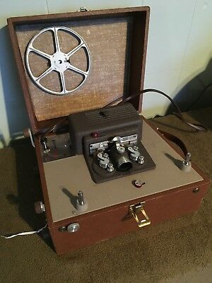 Vintage Keystone 60 Sixty 8 MM Movie Projector Tested Working