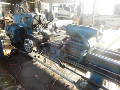 "32"" Swing x 216"" Center American Pacemaker Engine Lathe Taper Attachment"