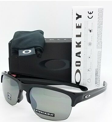 428cc8a0ebd NEW Oakley Sliver Edge sunglasses Black Prizm Black Polarized 9414-04  GENUINE