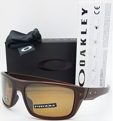 47442445877 NEW Oakley Drop Point sunglasses Rootbeer Prizm Tungsten Polarized brown  9367-07
