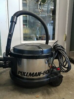 Pullman-Holt Model 390 Hepa Cannister Vacuum, 4 Gallon , see pictures
