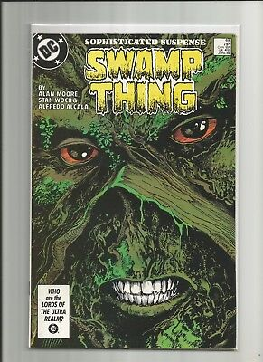 Swamp Thing #49 Alan Moore 1st cameo appearance Justice League Dark VF+