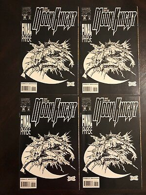 Moon Knight 60, 4 Copies! Stephen Platt Art! Last Issue