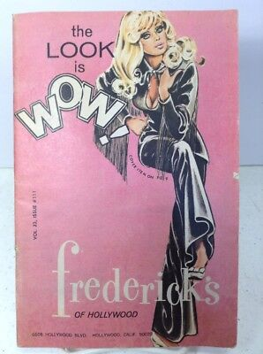 1969 Frederick's of Hollywood Fashion Catalog, Volume 23, Issue 111, 64 Pages