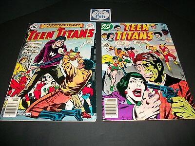 Teen Titans #45 1st Karen Beecher and Teen Titans #48 1st Bumblebee