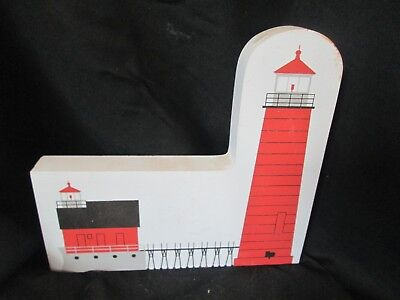 Vintage Cats' Meow GRAND HAVEN MI LIGHTHOUSE 1992 Collectible