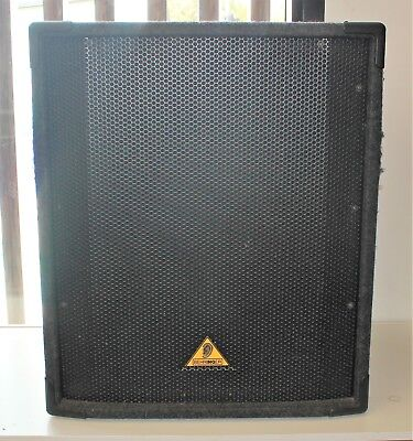 "Behringer Eurolive Professional B1800X High Power 18"" PA Subwoofer 400W #67290"