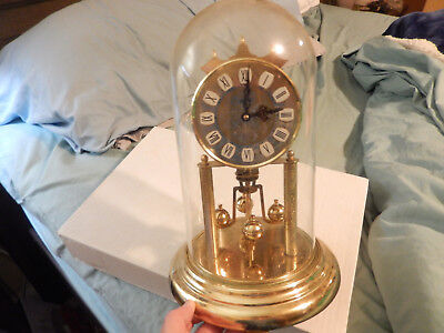 Elgin Haller Antique/vintage German Mantle Clock  Estate Find!!!