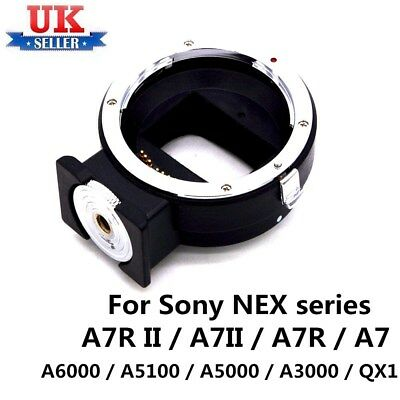 Auto Focus EF-NEX Adapter for Canon EF EF-S Lens to Sony NEX E Mount A7 A7R —UK*