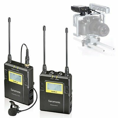 Saramonic UwMiC9 RX9+TX9 96-Channel UHF Wireless Lavalier Microphone System