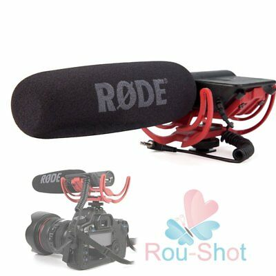 Rode Videomic Shotgun Microphone 3.5mm with Rycote Lyre Mount For DSLR Cameras