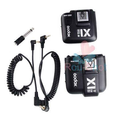 Godox X1S 2.4GHz TTL Wireless Transmitter and Receiver Trigger Set For Sony