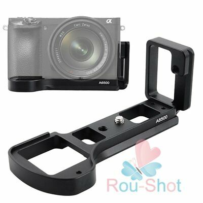 L Plate L-Shaped Quick Release Plate Bracket Base Holder For Sony A6500【AU】
