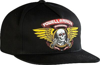 Powell Peralta - Winged Ripper Snapback Black