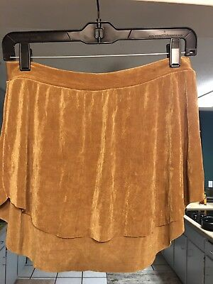 Abigail Mentzer Adult Womens Large Gold Ballet Dancewear Skirt
