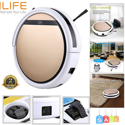 ILIFE V5S Pro Smart Robotic Vacuum Cleaner Cordless Dry Wet Sweeping Cleaning