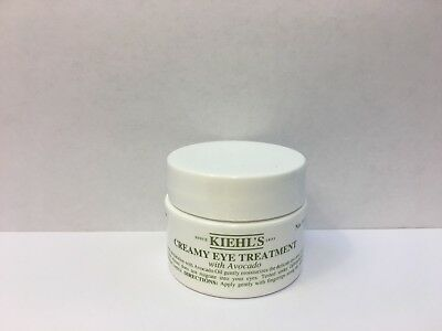 Kiehl's CREAMY EYE TREATMENT CREAM with AVOCADO 0.5oz/14g New