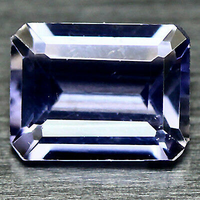 1.39 Ct NATURAL PURPLE MADAGASCAR IOLITE OCTAGON