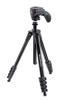 japan Manfrotto Tripod aluminum five-stage black MKCOMPACTACN-BK F/S from japan