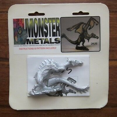 Monster Metals - Dragon Metal Figure New & Sealed
