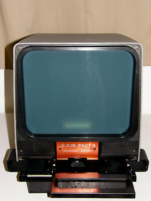 Microfiche Reader  New Old Stock  Gakken C.O.M. PACT II Working