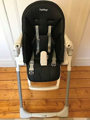 Peg Perego Prima Pappa Zero 3 Highchair - Licorice