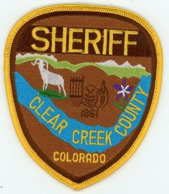 Clear Creek County Sheriff Colorado Co See Below For Great Deal