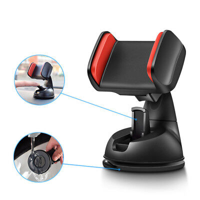 For Mobile Cell Phone 360° Universal Car Holder Stand Mount Windshield Bracket